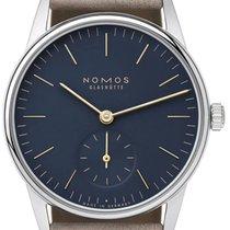 NOMOS Orion 33 Steel 32,8mm Blue