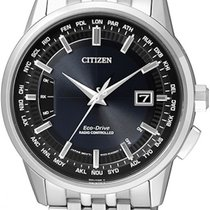 Citizen Steel 43mm Quartz CB0150-62L new