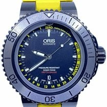Oris Aquis Depth Gauge Steel 46mm Black United States of America, Florida