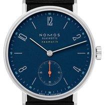 NOMOS Tangente Neomatik Acier 35mm Bleu Arabes