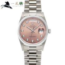 Rolex Day-Date 36 Oro blanco 36mm Rosa