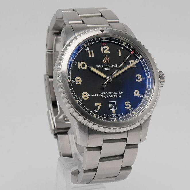 Breitling Aviator 8 Automatic 41 Stahl A17315101B1A1