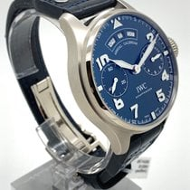 IWC Big Pilot White gold 46mm Blue Arabic numerals