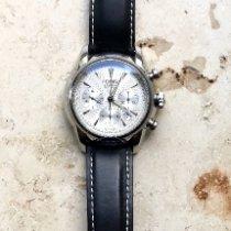 Oris Artelier Chronograph usados 44mm Plata Cronógrafo Hebilla ardillón