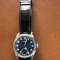 Montblanc 1858 Steel 44mm Blue Arabic numerals