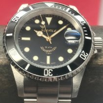 Squale Steel Automatic Black 40mm pre-owned