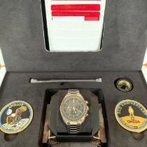 Omega Speedmaster Professional Moonwatch Сталь 42mm Чёрный Без цифр