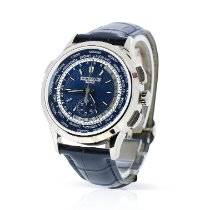 Patek Philippe World Time Chronograph new 2018 Automatic Chronograph Watch with original box and original papers 5930G-001
