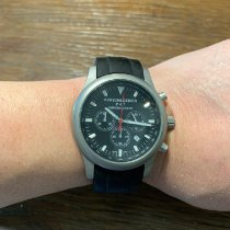 Porsche Design Dashboard Titanium 43mm Black
