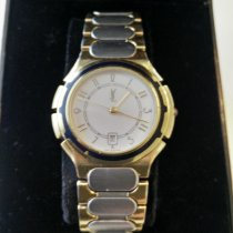 Yves Saint Laurent Staal 33mm Quartz 315868 tweedehands