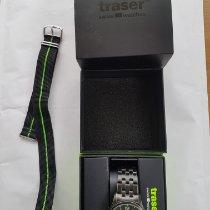 Traser Steel 42mm Quartz 107426 pre-owned