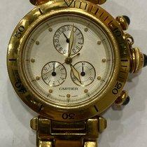 Cartier Pasha 1353-1 Good Yellow gold 35mm Quartz Thailand, Bangkok