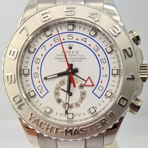 Rolex Yacht-Master II White gold 44mm White No numerals