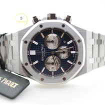 Audemars Piguet Royal Oak Chronograph Steel 41mm Blue No numerals United Kingdom, Edinburgh