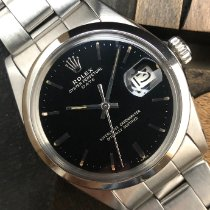 Rolex Oyster Perpetual Date usados 34mm Negro Fecha Acero