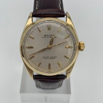 Rolex Oyster Perpetual 34 Yellow gold 34mm White No numerals United States of America, Arizona, Scottsdale