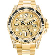 Rolex 116758SA Yellow gold GMT-Master II 40mm new