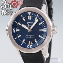 IWC Aquatimer Automatic Stahl 43mm Blau