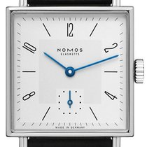 NOMOS Tetra 27 Steel 27,5mm White Arabic numerals