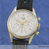 TAG Heuer Handopwind Zilver 35.5mm tweedehands Carrera