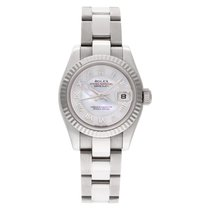 Rolex 179179 Or blanc Lady-Datejust 26mm occasion
