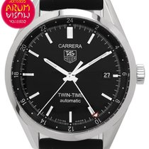 TAG Heuer WV2115 Steel 2012 Carrera Calibre 7 39mm pre-owned
