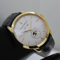 Girard Perregaux 1966 Rose gold 40mm Silver No numerals