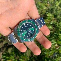 Rolex Submariner Date Acier 40mm Vert Sans chiffres France, Bastia