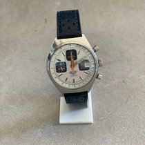 Heuer new Manual winding Small seconds 37mm Steel Sapphire crystal