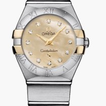 Omega Constellation Quartz 123.20.24.60.57.002 2020 nuevo