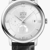 Omega De Ville Prestige Acero 39.5mm Plata Romanos