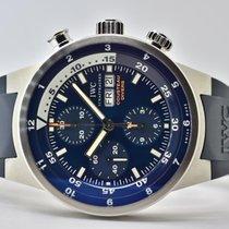 IWC Aquatimer Chronograph Stahl 42mm Blau Keine Ziffern Deutschland, Iffezheim