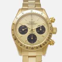 Rolex Daytona Yellow gold 37mm Gold No numerals