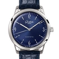 Glashütte Original Sixties Acier 39mm Bleu Arabes