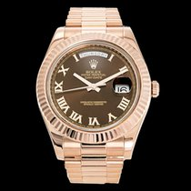 Rolex 218235 Or rose 2011 Day-Date II 41mm occasion