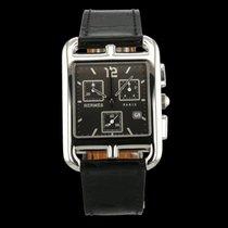 Hermès Cape Cod Stahl 33mm Grau