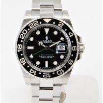 Rolex GMT-Master II 116710LN Gut Stahl 40mm Automatik
