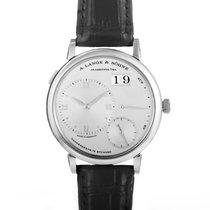 A. Lange & Söhne Grand Lange 1 Platinum 40.9mm Silver Roman numerals