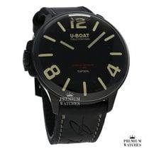 U-Boat Acero Cuarzo Negro Arábigos 45,00mm nuevo