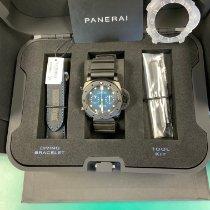 Panerai nuevo Automático 47mm Titanio Cristal de zafiro