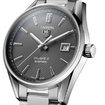 TAG Heuer Carrera Calibre 5 Steel 39mm Grey No numerals United States of America, Texas, Richardson