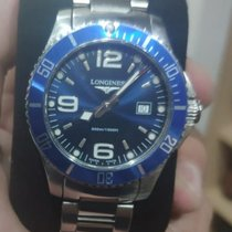 Longines HydroConquest Steel Blue No numerals