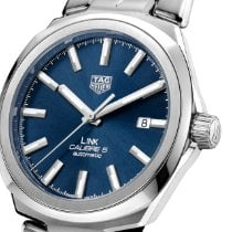 TAG Heuer Link Calibre 5 Steel 41mm Blue No numerals United States of America, Texas, Richardson