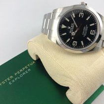 Rolex Explorer neu 2020 Automatik Uhr mit Original-Box und Original-Papieren 214270