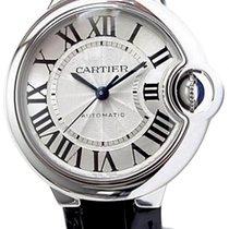 Cartier Ballon Bleu 33mm Steel 33mm White Roman numerals