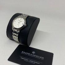 Baume & Mercier Classima Steel 34mm Silver Roman numerals