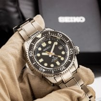 Seiko Marinemaster Titanium 44.3mm Black No numerals United States of America, Texas, Austin