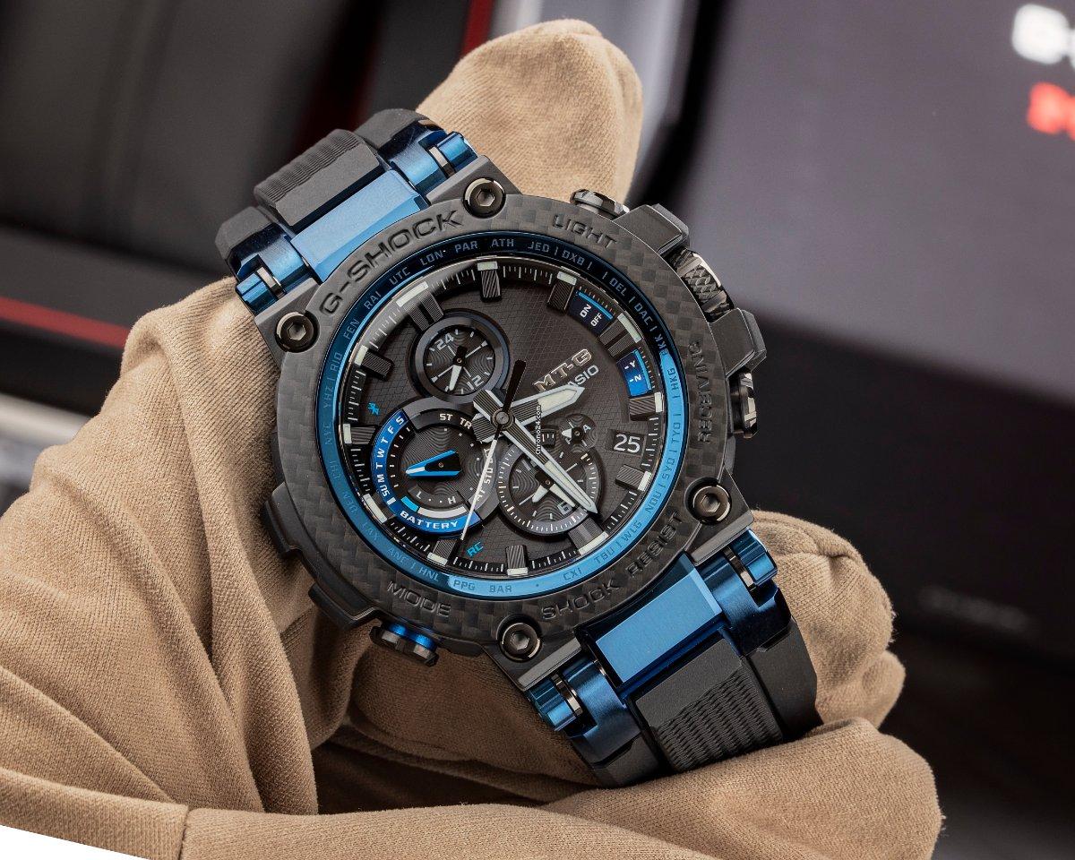 G-Shock MTGB1000XB de fibra de carbono ¡Lo probamos! 5