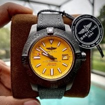 Breitling Avenger II Seawolf Steel 45mm Yellow No numerals United States of America, Florida, Orlando