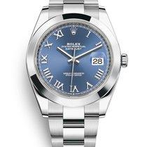 Rolex Datejust Steel 41mm Blue Roman numerals United States of America, Florida, Sunny Isles Beach